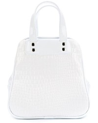 Bolsa tote blanca de Comme des Garcons