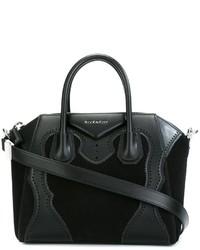 Bolsa tote de ante negra de Givenchy