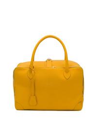 Bolsa tote de cuero amarilla de Golden Goose Deluxe Brand