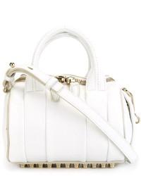 Bolsa Tote de Cuero Blanca de Alexander Wang