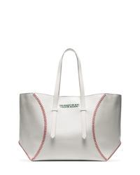 Bolsa tote de cuero blanca de Calvin Klein 205W39nyc
