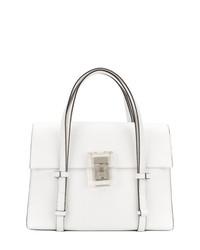 Bolsa Tote de Cuero Blanca de Maison Margiela