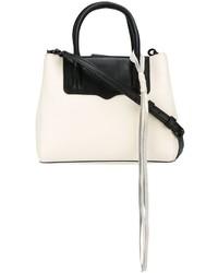 Bolsa Tote de Cuero Blanca de Rebecca Minkoff