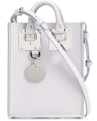 Bolsa Tote de Cuero Blanca de Sophie Hulme