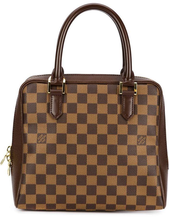 1ceb17d14 Bolsa tote de cuero marrón de Louis Vuitton, MEX$18,844 | farfetch ...