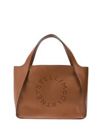 Bolsa tote de cuero marrón de Stella McCartney