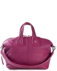 Bolsa Tote de Cuero Morado de Givenchy