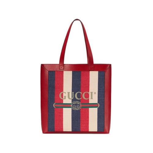 7a753ac2b Bolsa tote de cuero roja de Gucci, MEX$26,674   farfetch.com ...