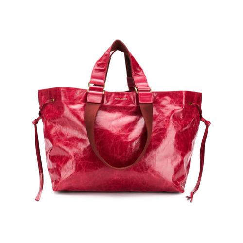 425abd760 Bolsa tote de cuero roja de Isabel Marant, MEX$18,895 | farfetch.com ...