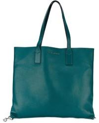 Bolsa Tote de Cuero Verde Azulado de Marc Jacobs