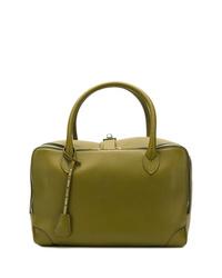 Bolsa tote de cuero verde oliva de Golden Goose Deluxe Brand