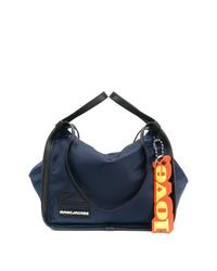 Bolsa tote de lona azul marino de Marc Jacobs