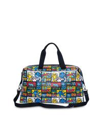 Bolsa tote de lona estampada en multicolor de Alice + Olivia