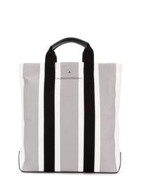 Bolsa tote de lona gris de Calvin Klein 205W39nyc