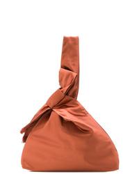 Bolsa tote de lona naranja de Tory Burch