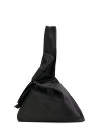 Bolsa tote de lona negra de Tory Burch