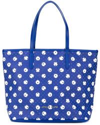 Bolsa Tote Estampada Azul de Armani Jeans