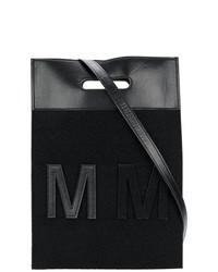 Bolsa Tote Negra de MM6 MAISON MARGIELA