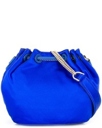 Bolso bandolera azul de Diane von Furstenberg