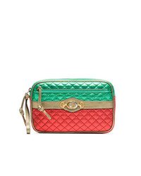 Bolso bandolera de cuero acolchado en multicolor de Gucci