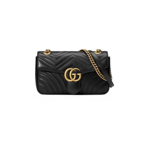 mejor selección 82156 59c74 MEX$40,978, Bolso bandolera de cuero acolchado negro de Gucci