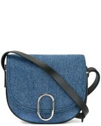 Bolso Bandolera de Cuero Azul de 3.1 Phillip Lim
