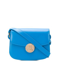 Bolso bandolera de cuero azul de Calvin Klein 205W39nyc
