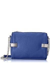 Bolso bandolera de cuero azul de Danielle Nicole