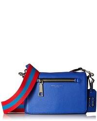Bolso bandolera de cuero azul de Marc Jacobs
