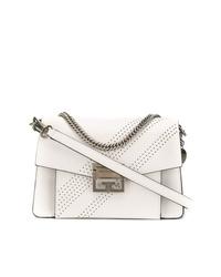 Bolso bandolera de cuero blanco de Givenchy