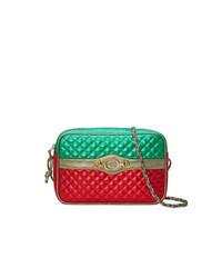 Bolso bandolera de cuero en multicolor de Gucci