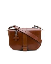 Bolso bandolera de cuero marrón de A.F.Vandevorst