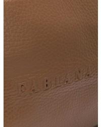 Bolso bandolera de cuero marrón de Fabiana Filippi
