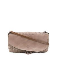 Bolso bandolera de cuero marrón de Tagliovivo