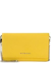 Bolso bandolera de cuero mostaza de Givenchy