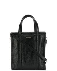 Bolso bandolera de cuero negro de Balenciaga