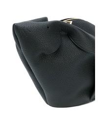 Bolso bandolera de cuero negro de Loewe