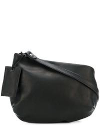 Bolso bandolera de cuero negro de Marsèll