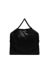 Bolso bandolera de cuero negro de Stella McCartney