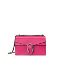 Bolso Bandolera de Cuero Rosa de Gucci