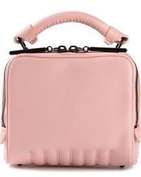 Bolso bandolera de cuero rosado de 3.1 Phillip Lim