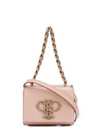 Bolso bandolera de cuero rosado de Emilio Pucci