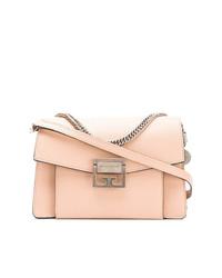 Bolso bandolera de cuero rosado de Givenchy