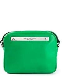 Bolso bandolera de cuero verde de Marc by Marc Jacobs