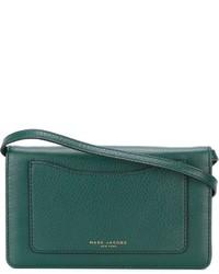 Bolso bandolera de cuero verde de Marc Jacobs