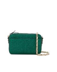 Bolso bandolera de cuero verde de RED Valentino