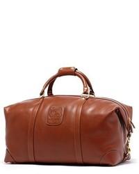 Bolso baúl de cuero