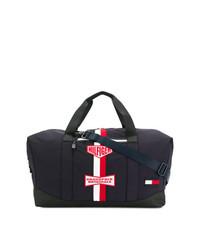 Bolso baúl de lona azul marino de Tommy Hilfiger