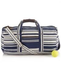 Bolso baúl de lona