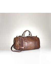 Bolso baúl marrón